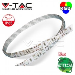 Striscia 300 LED SMD 5050 strip 5Mt Multicolor RGB adesiva IP65