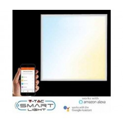 V-TAC SMART LIGHT VT-5140 Pannello led 40W 60x60 color change 3in1 dimmable gestione smartphone -